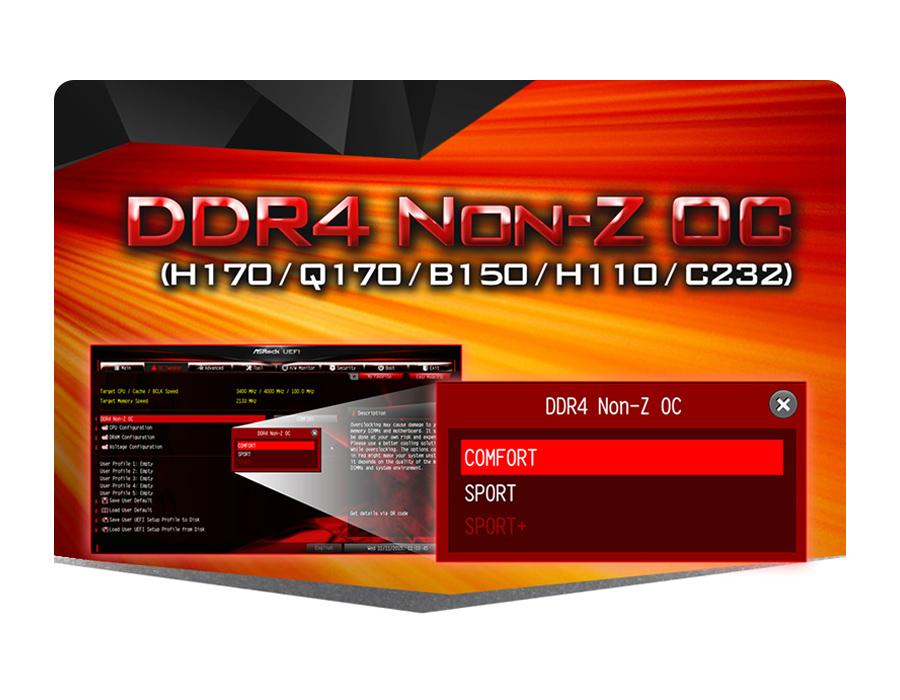 Płyta główna Socket 1151 ASRock H110M-DGS - DDR4