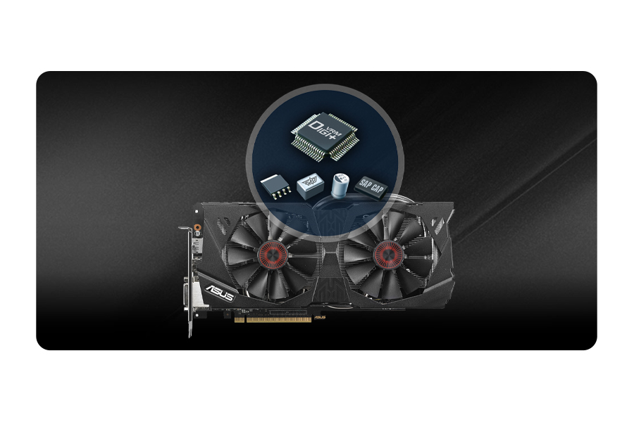 ASUS GeForce GTX970 DirectCu II Strix 4GB