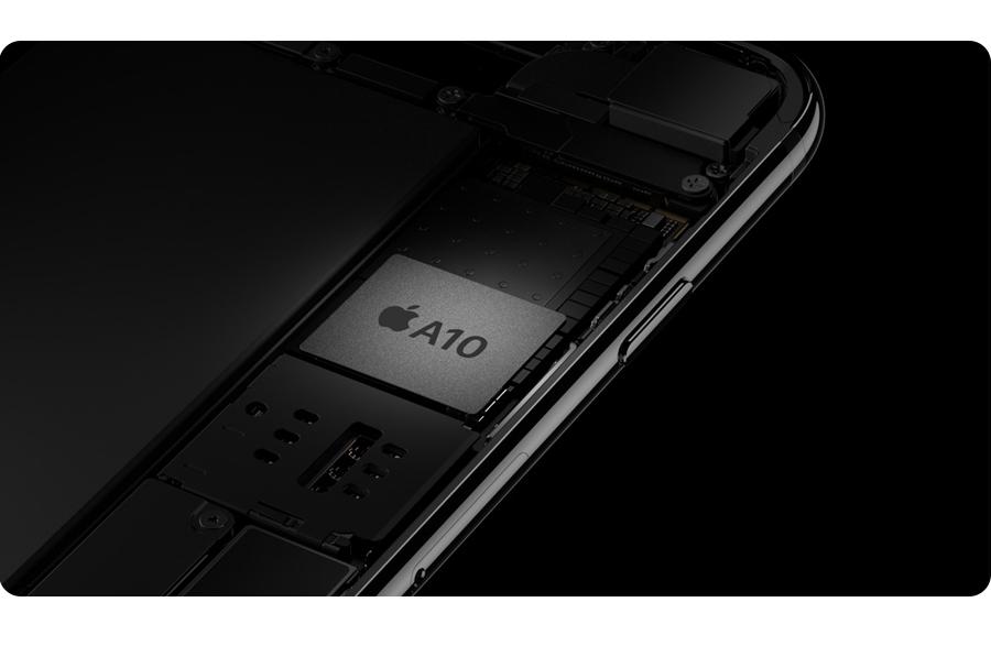 iPhone 7 128GB czarny procesor A10