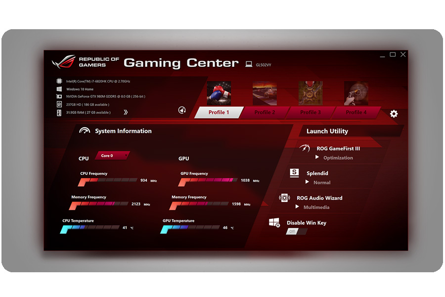 ROG Gaming Center