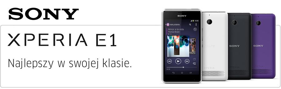 Sony Xperia E1 Dual Sim Czarny Smartfony I Telefony Sklep Komputerowy X Kom Pl