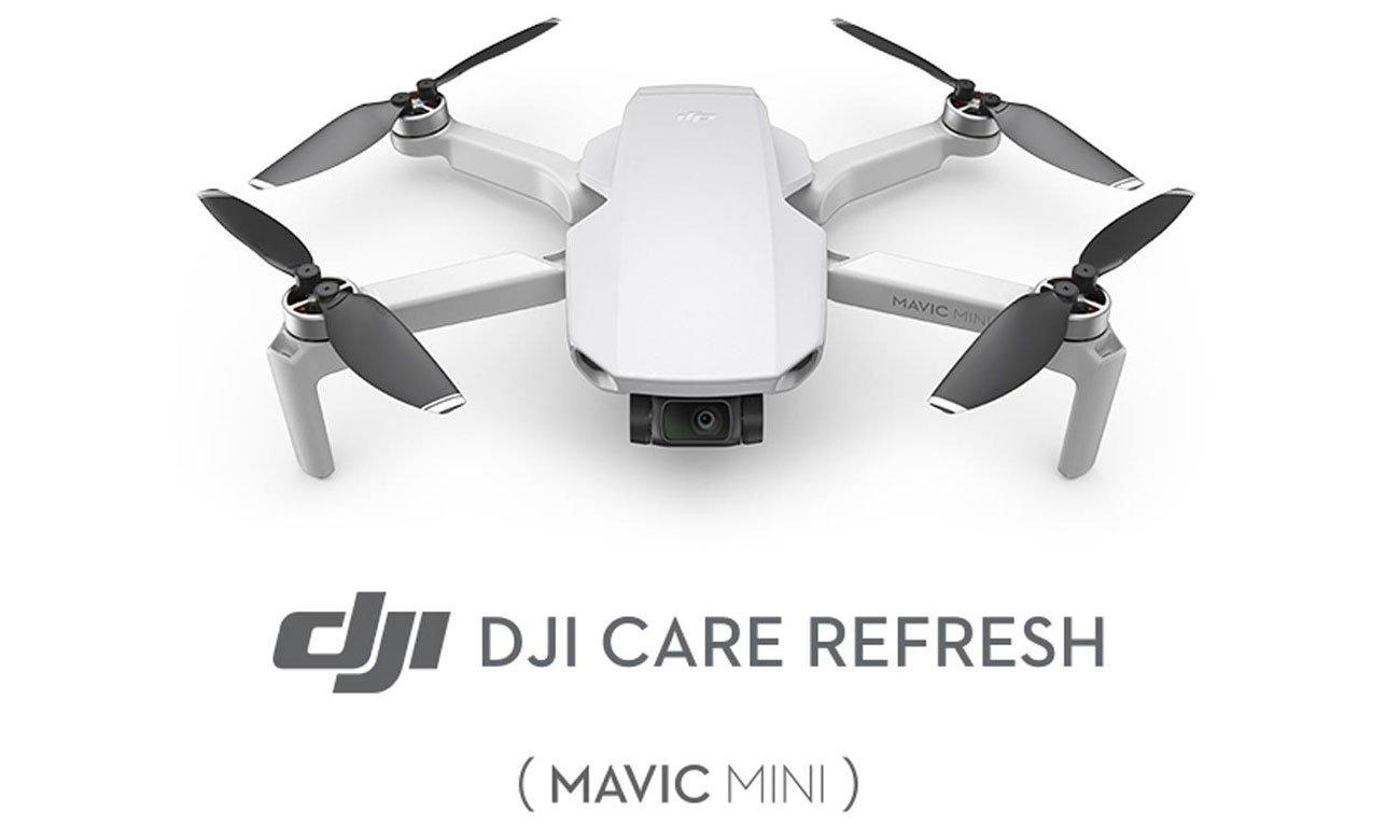 Plan ochrony DJI Care Refresh dla drona Mavic Mini