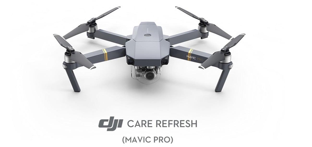 Plan ochrony DJI Care Refresh dla drona Mavic Pro