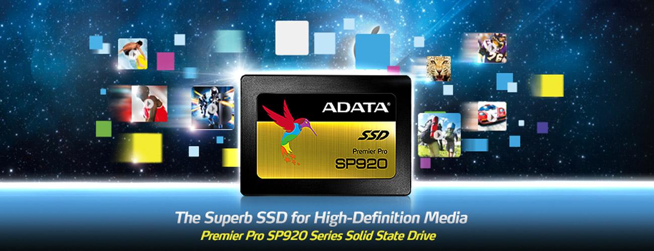 ADATA 256GB SATA SSD Premier Pro SP920 Doskonały stosunek kosztów do wydajności