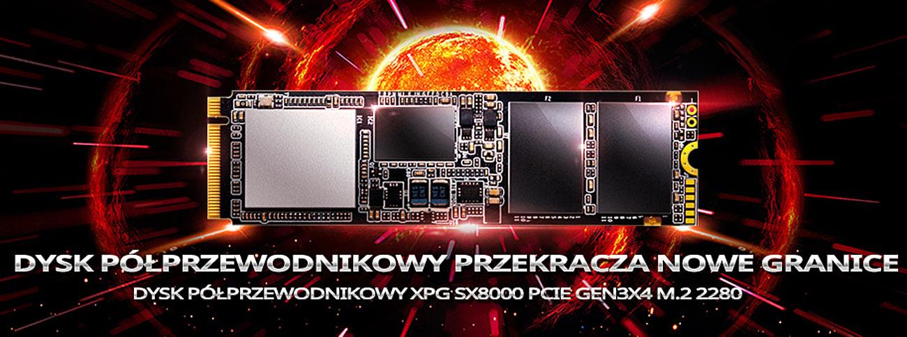 ADATA M.2 PCIe NVMe XPG SX8000