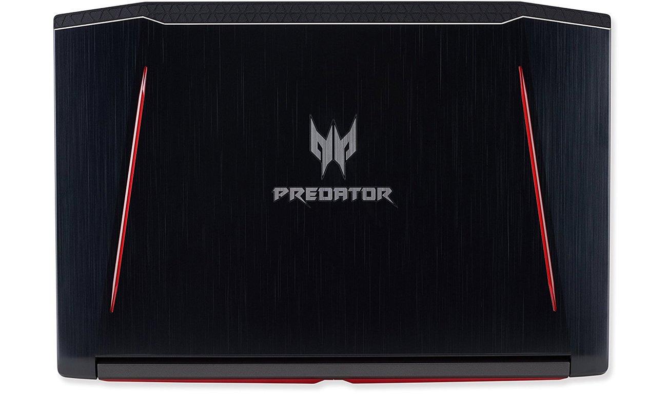 Acer Helios 300 agresywny wygląd