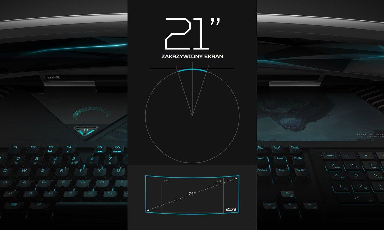 Acer Predator GX21 zakrzywiony ekran