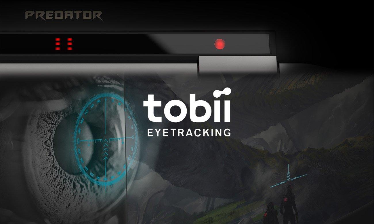 Acer Predator GX21 śledzenie wzroku