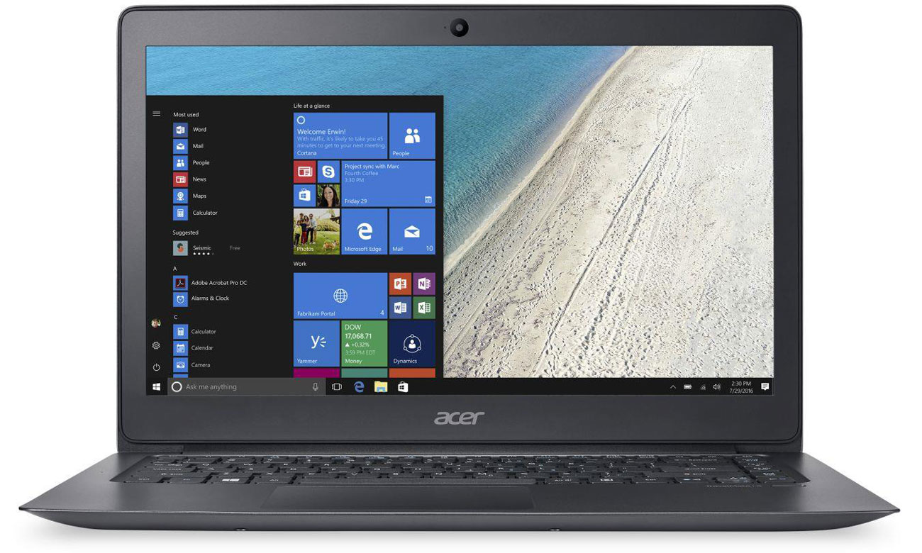 Acer TravelMate X349 Intel Core i5-7200U
