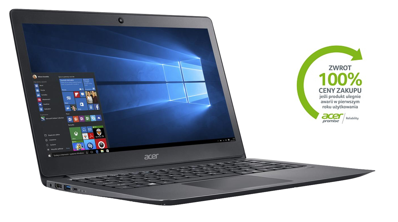 Acer P249-M z Reliability Promise