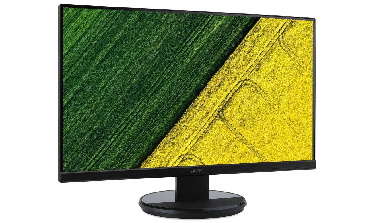 Acer K222HQLCBID - Widok z przodu