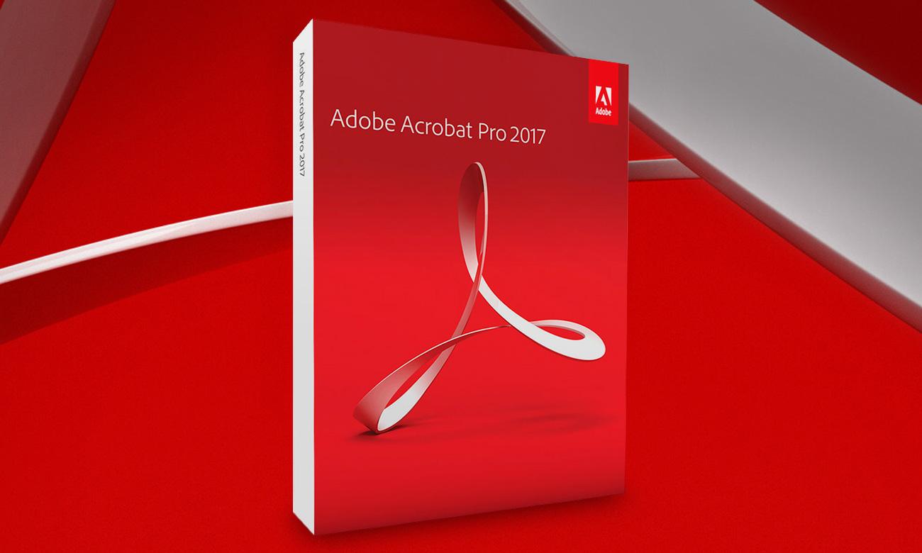 Adobe Acrobat 2017 Pro WIN czołowe rozwiązanie do pracy z plikami PDF