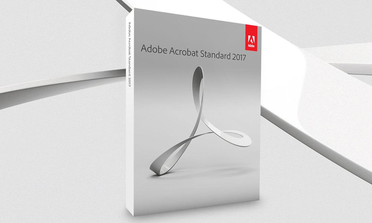 Adobe Acrobat 2017 Standard WIN ESD czołowe rozwiązanie do pracy z plikami PDF