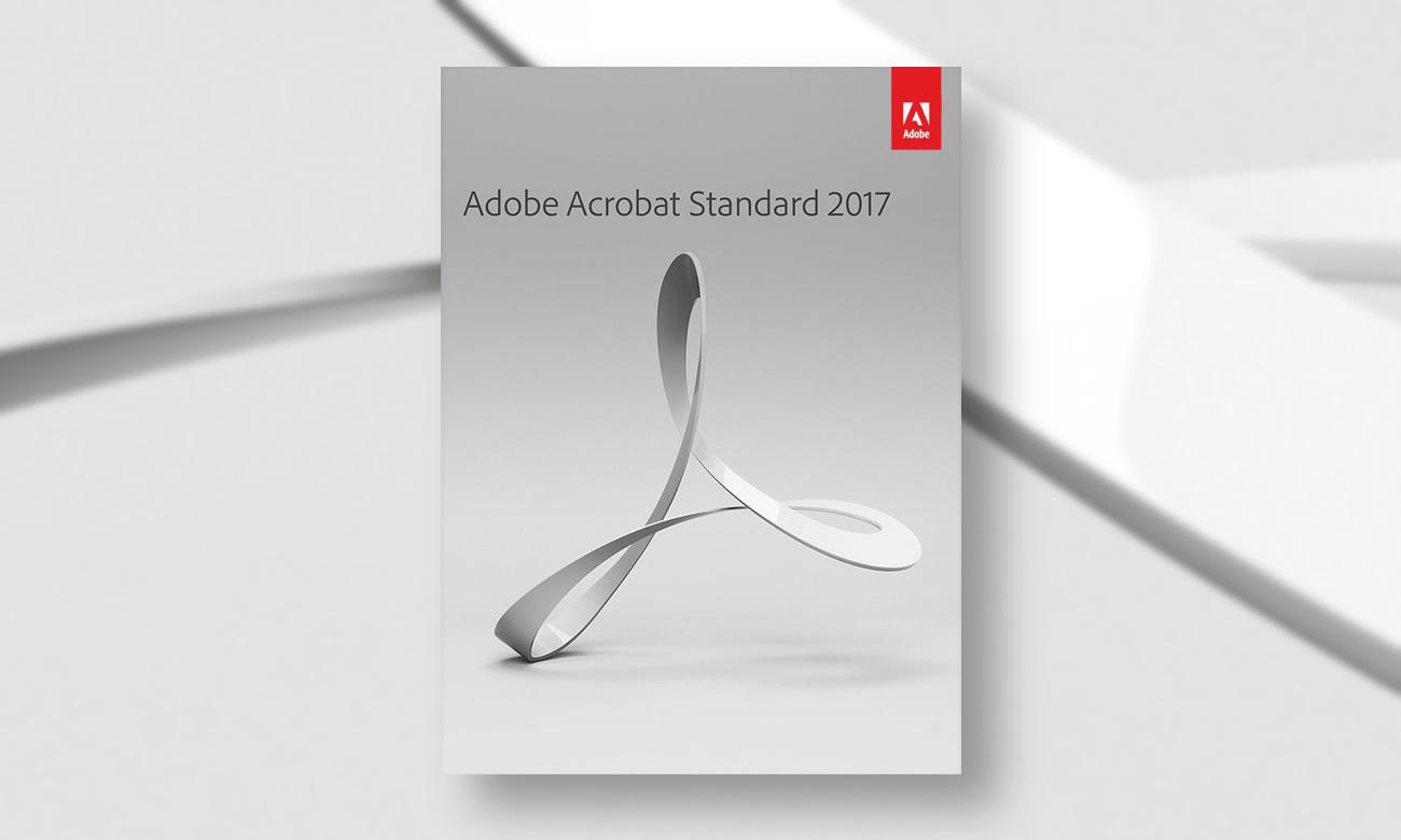 Adobe Acrobat 2017 Standard WIN ESD Najwyższe poziomy zabezpieczeń i zgodności z przepisami