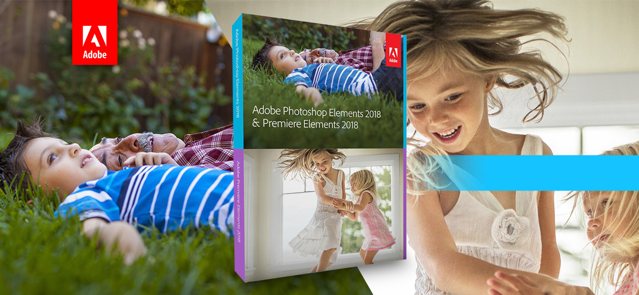 Adobe Photoshop Elements i Premiere Elements 2018 MAC ESD