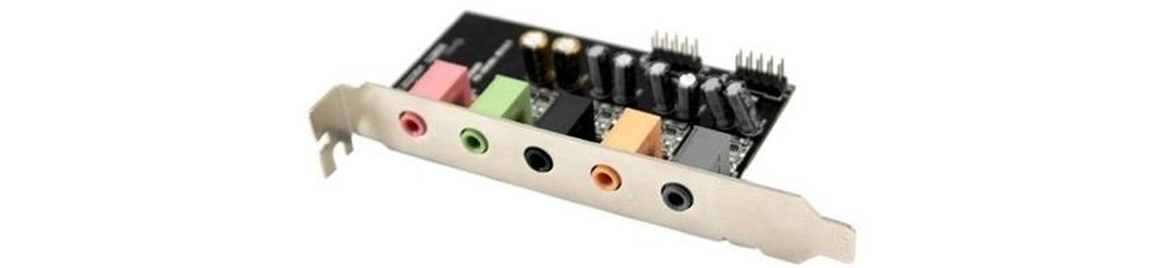 Karta muzyczna AIM SC808 PCI-E Efekty dźwiękowe