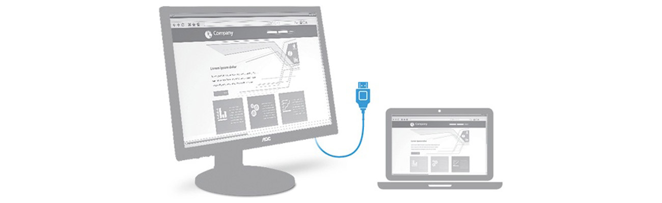 Monitor AOC E2770SH - HDMI