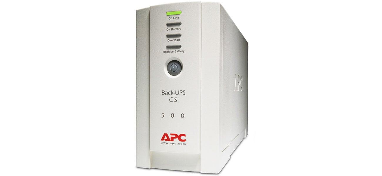 APC APC Back-UPS ES (500VA) cechy