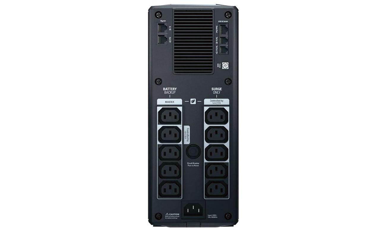 APC Back-UPS Pro 1200 ochrona przeciwprzepięciowa