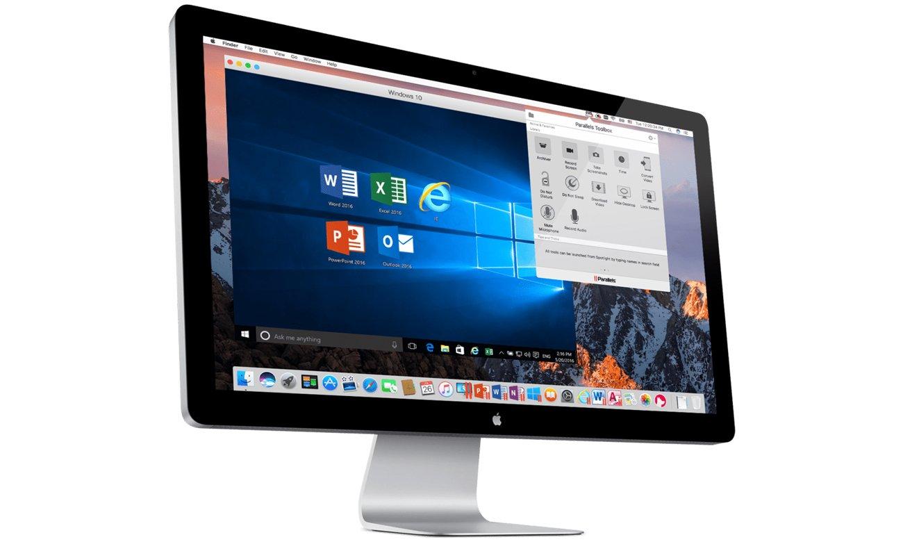 Apple Parallels Desktop 12 Mac optymalizacja