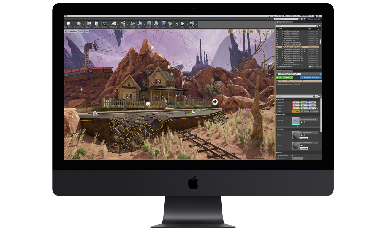 Apple iMac Pro Xeon Grafika Vega