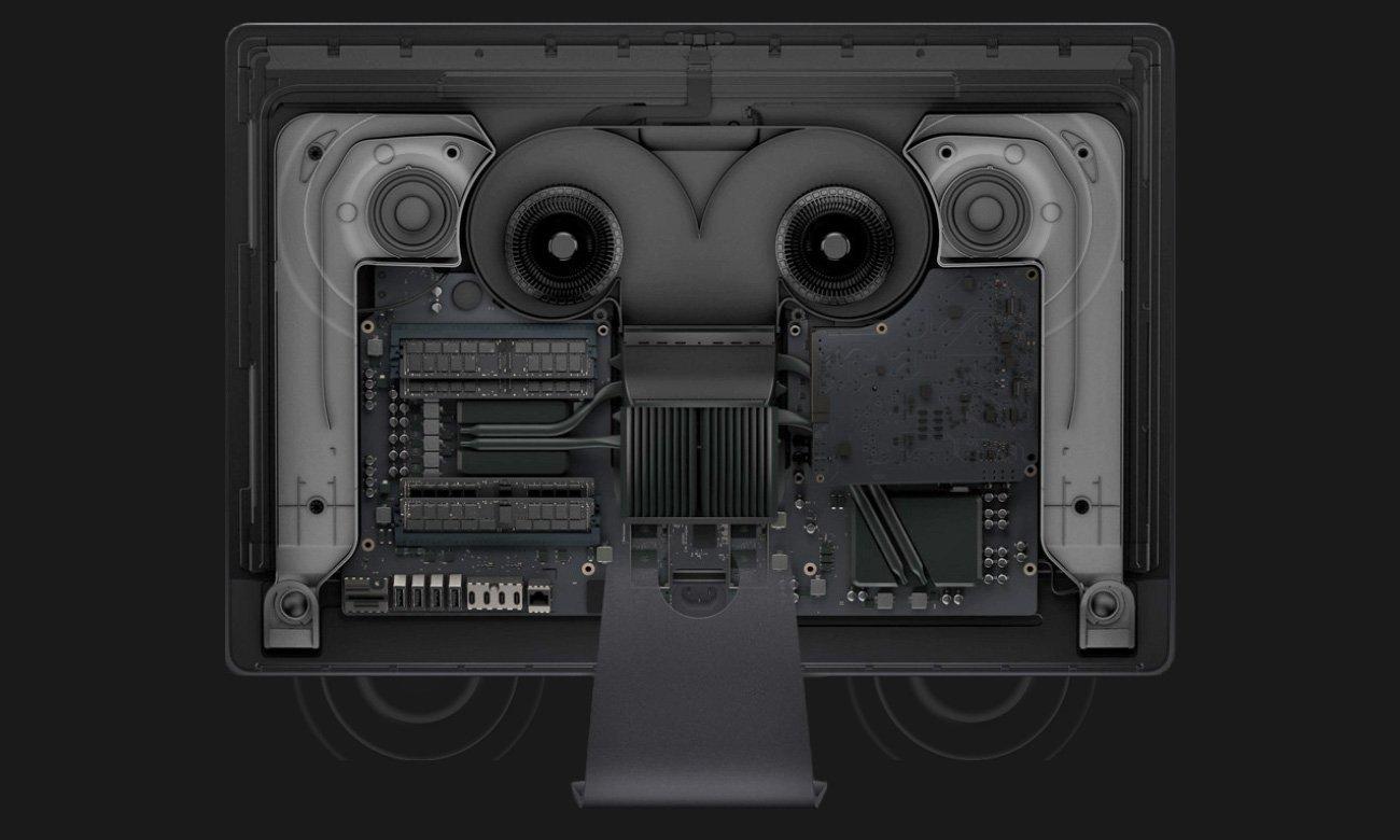 Apple iMac Pro Xeon Studyjny dźwięk, Idealna jakość rozmów