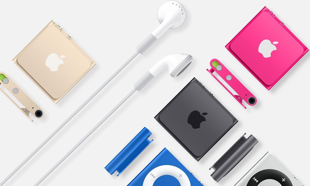 Apple iPod shuffle 2GB Zabierz ze sobą setki piosenek