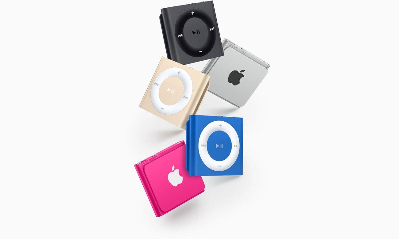 Apple iPod shuffle 2GB Wyjątkowy wygląd