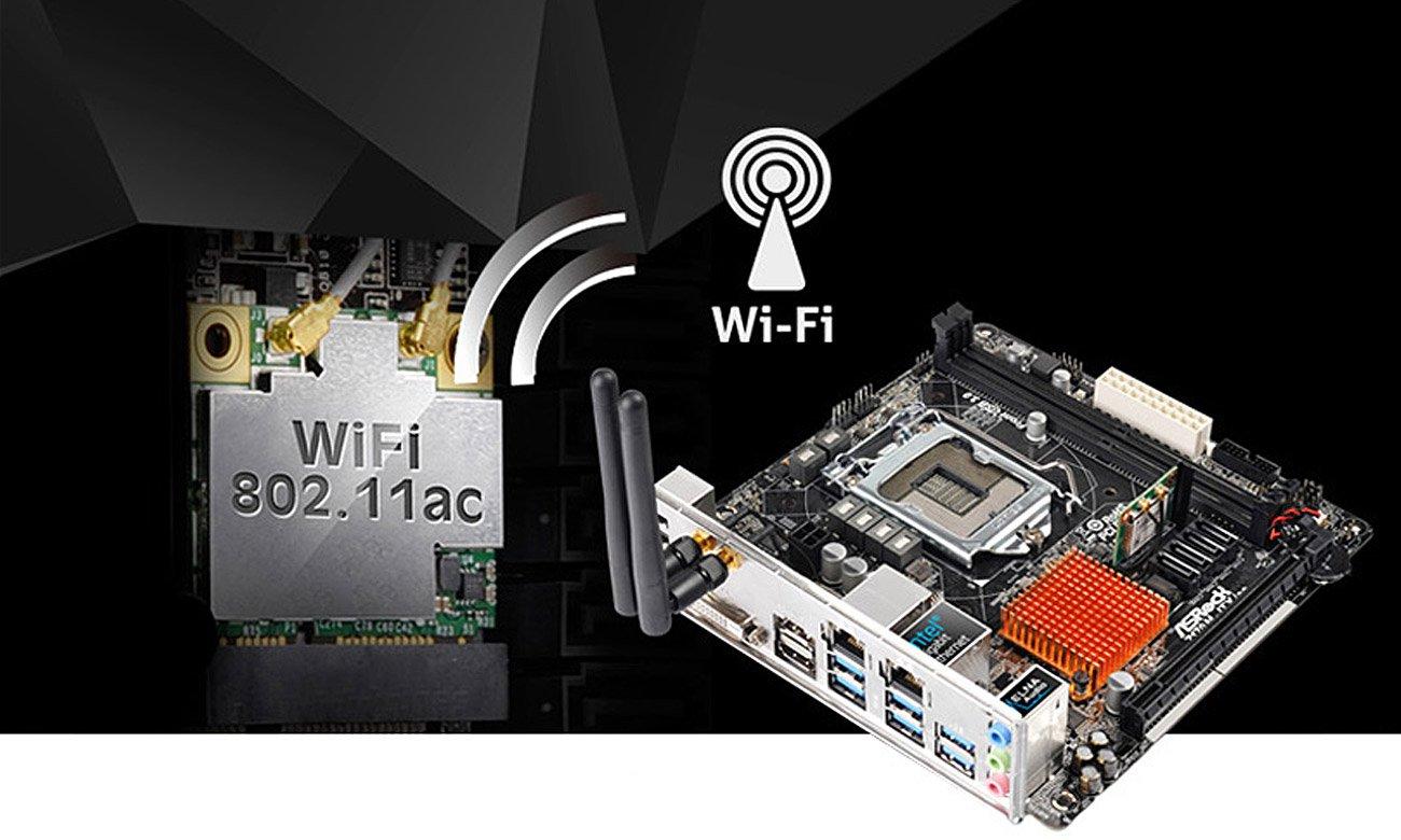 ASRock H110M-ITX/AC 5G WiFi