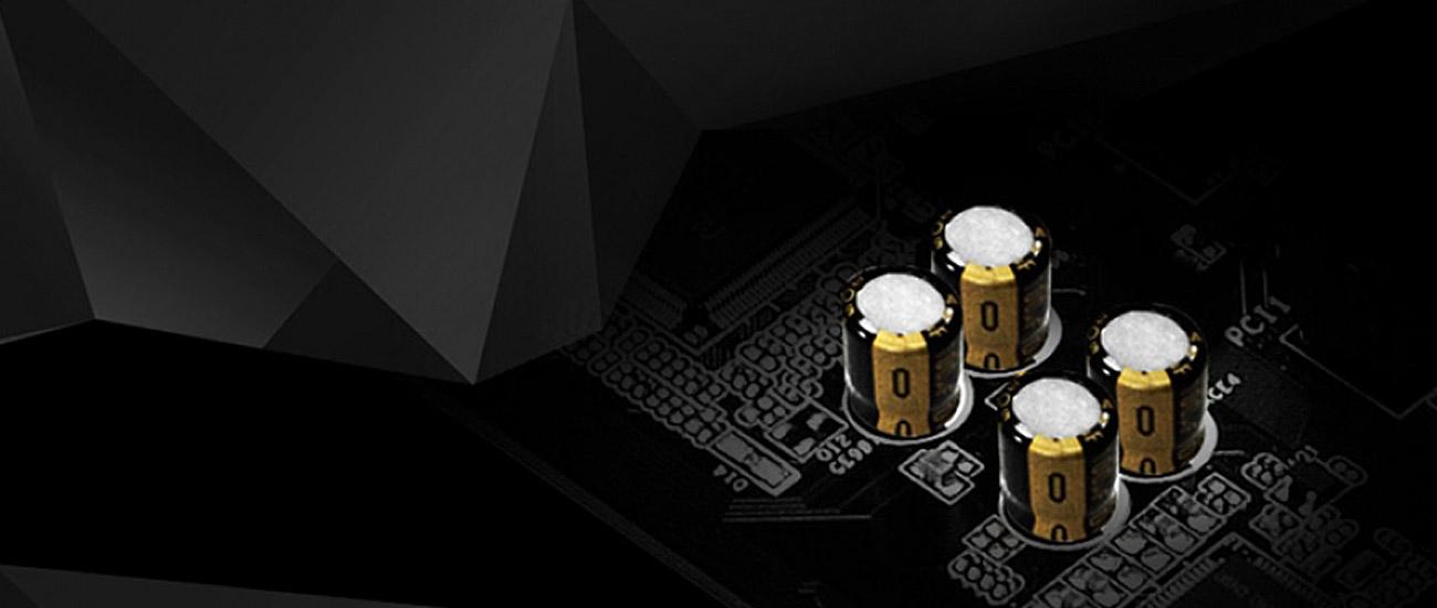 ASRock H110M-ITX/AC Kondensatory audio ELNA