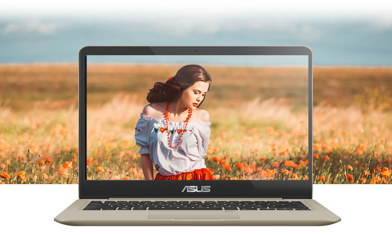 ASUS VivoBook S14 S410UN ekran NanoEdge