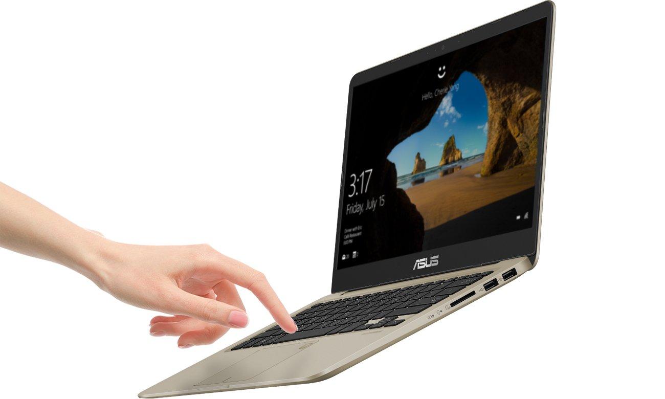 ASUS VivoBook S14 S410UN czytnik linii papilarnych