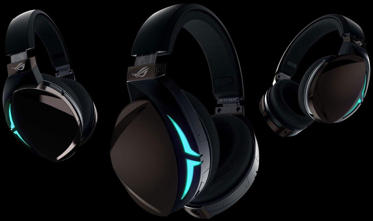 Der Kopfhörer mit Digital Analog Wandler 9601 Verstärker luftdichte Kammer und 50mm ASUS Essence Treiber ROG Strix Fusion 700