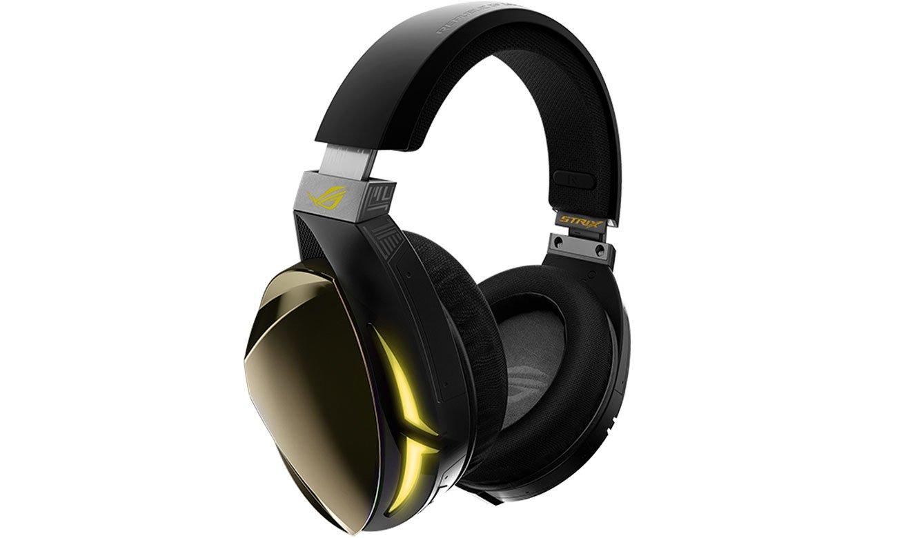 Der Kopfhörer mit ROG Hybrid Ohrpolster ASUS Strix Fusion 700