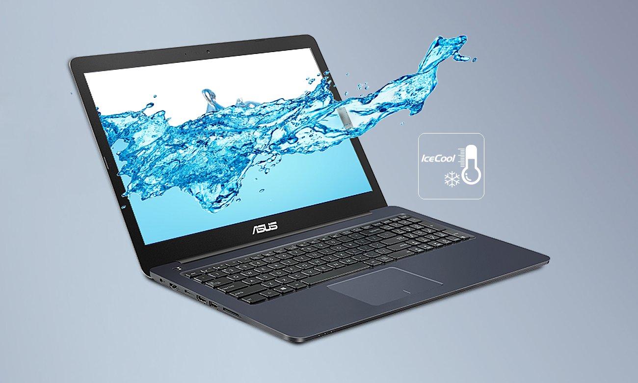 ASUS E502NA Technologia IceCool