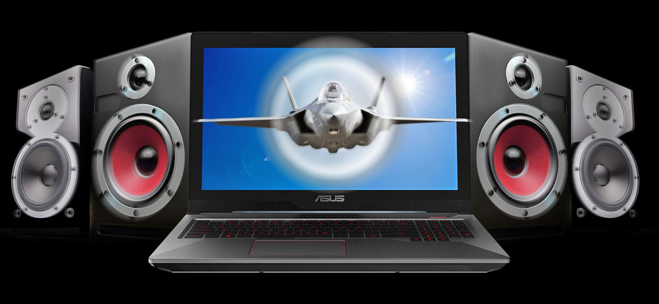 ASUS FX503VM System audio od ICEpower