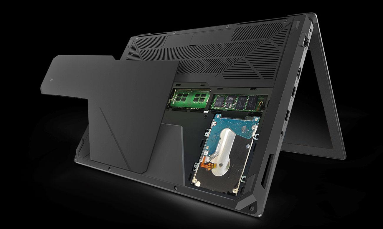 ASUS FX503VD Łatwa rozbudowa