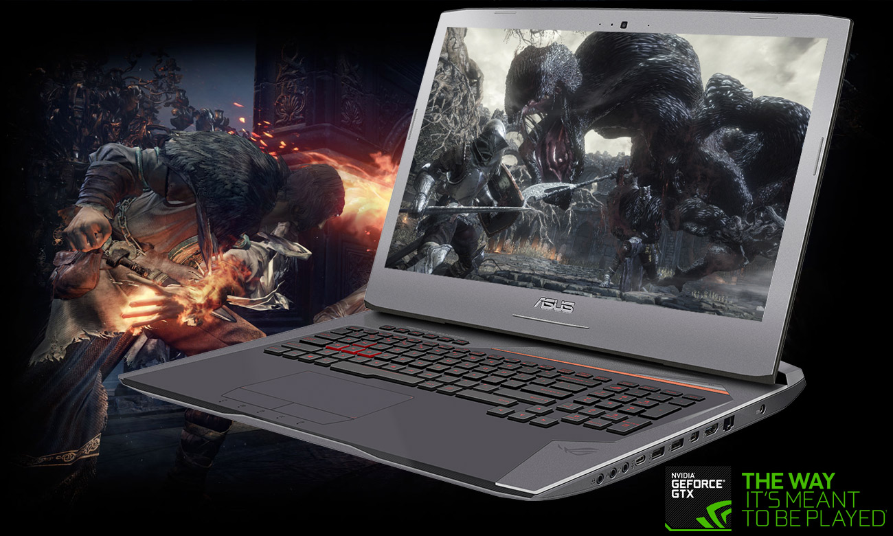 Laptop ASUS ROG G752VS karta graficzna GeForce GTX 1070