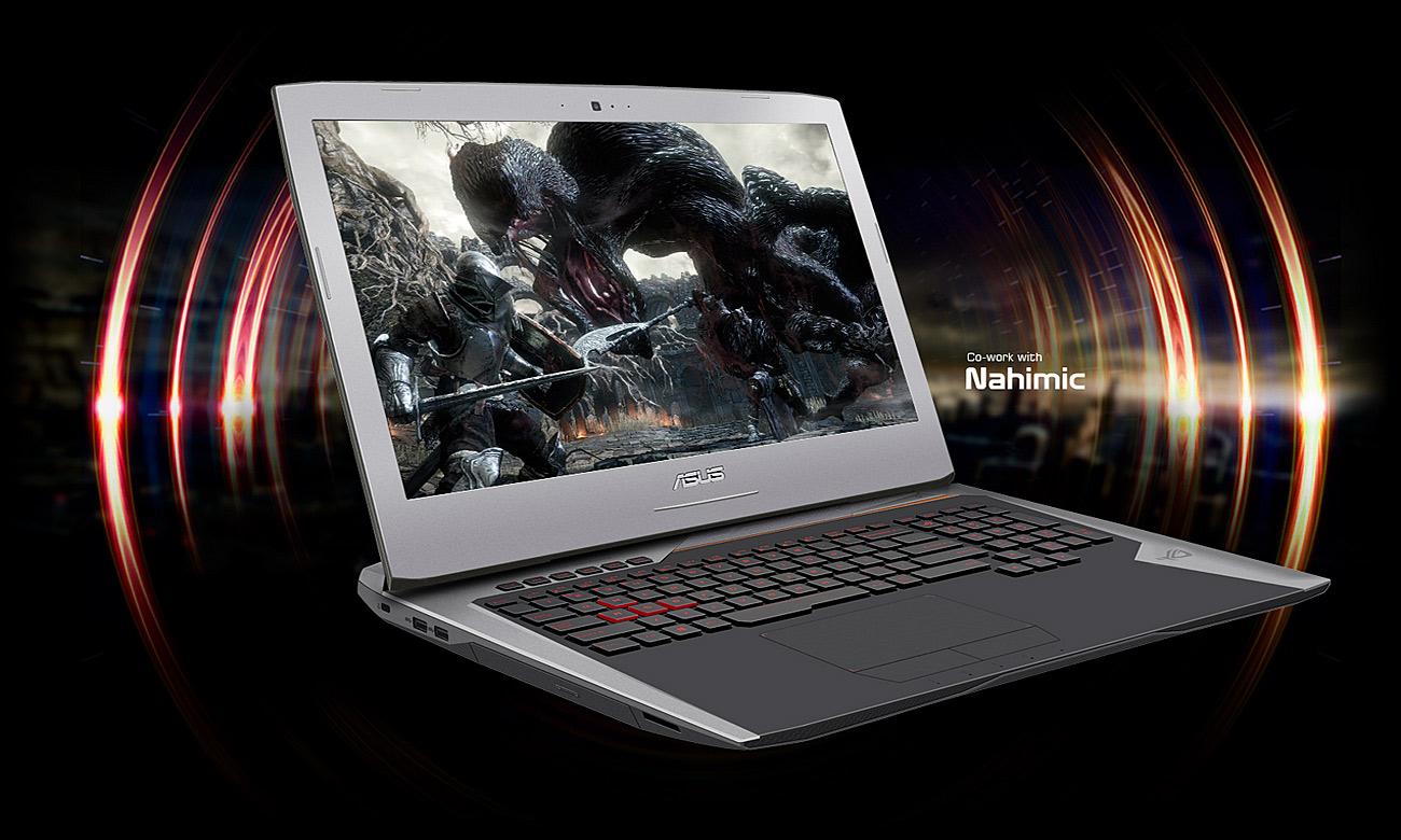 Laptop ASUS ROG G752VS sonic studio sonic radar