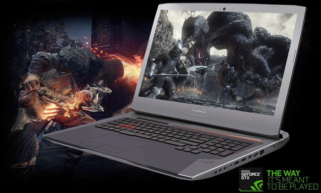 ASUS ROG G752VM karta graficzna GeForce GTX 1060