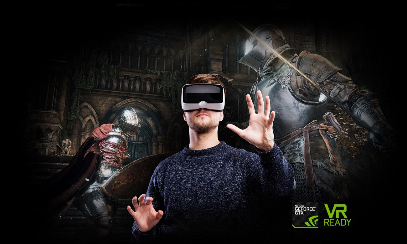 ASUS ROG G752VM wirtualna rzeczywistość VR