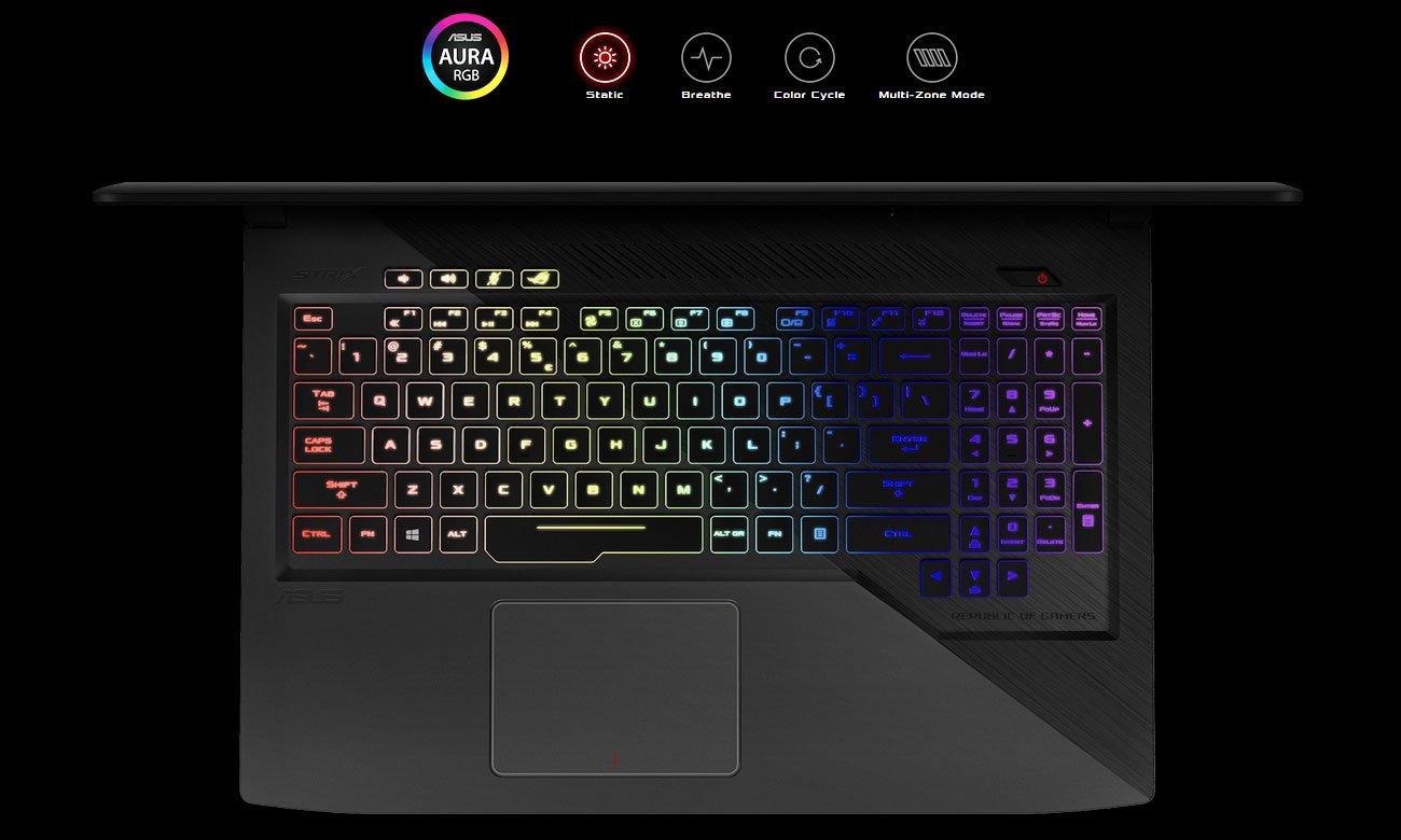 ASUS ROG Strix GL503VD Aura RGB освітлення