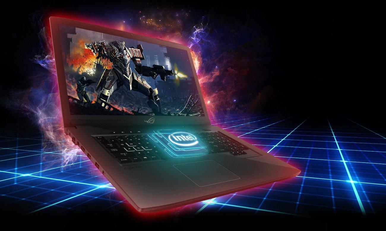 ASUS ROG Strix GL703VM Procesor Intel Core i7-7700HQ