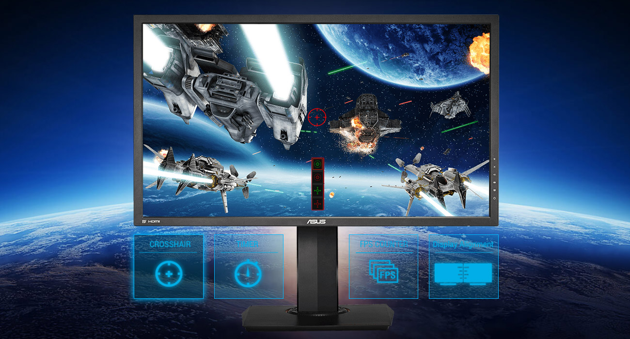 ASUS MG28UQ 4K Technologia GamePlus
