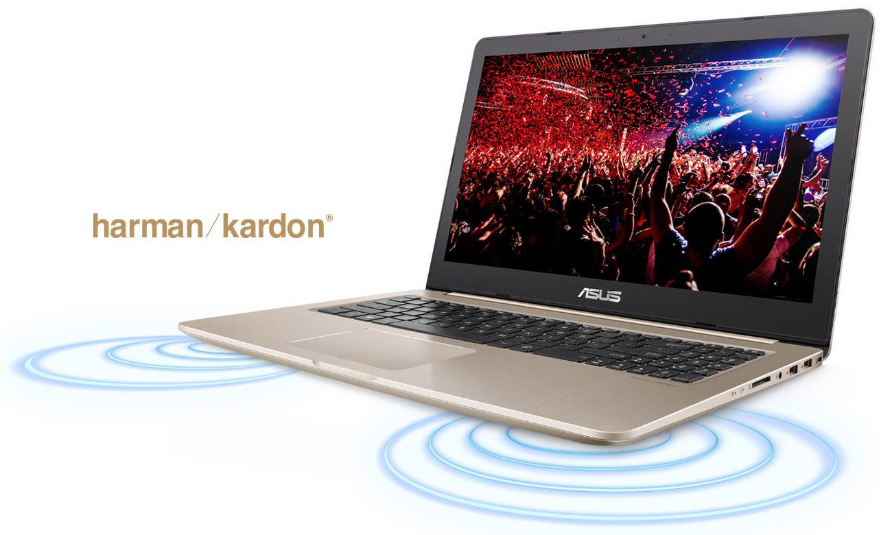 ASUS VivoBook Pro N580VD audio Harman Kardon
