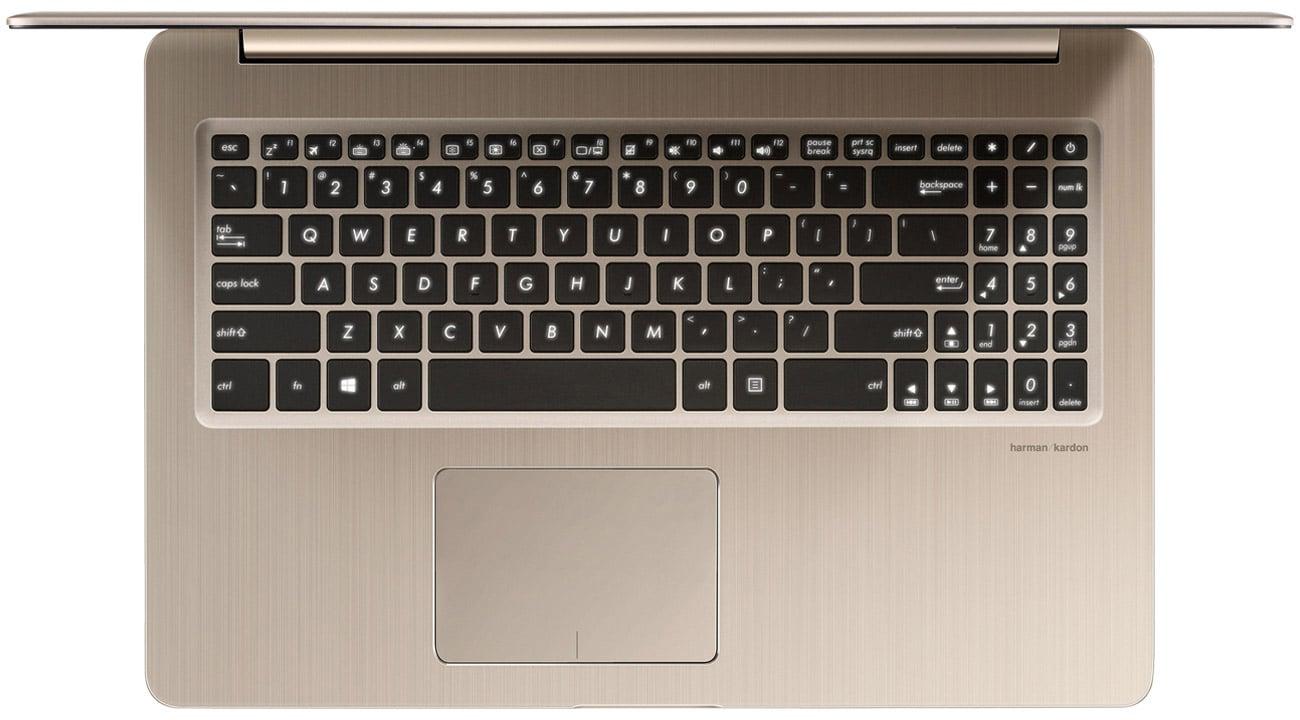 ASUS VivoBook Pro N580VD Podświetlana klawiatura