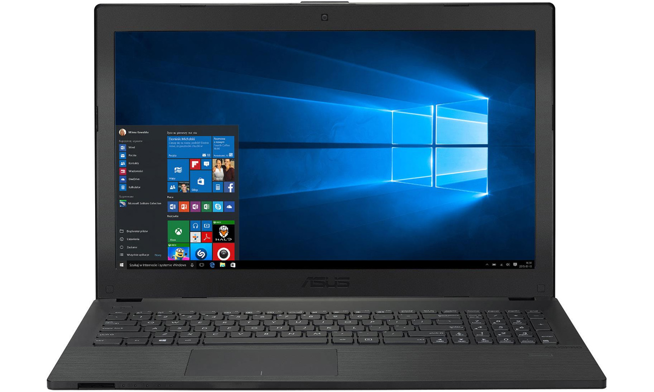 laptop ASUS P2540UA układ graficzny intel hd graphics