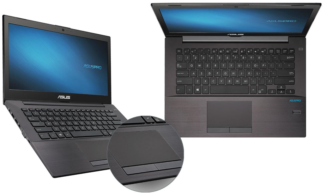 ASUS P5430UA-FA0076R komfortowa klawiatura panel dotykowy