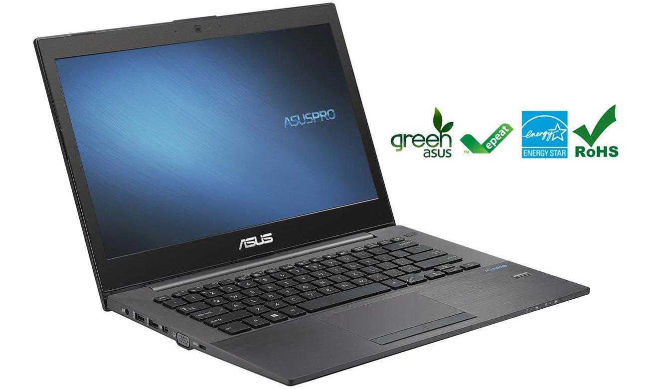 ASUS P5430UA-FA0076R green przyjazny dla środowiska