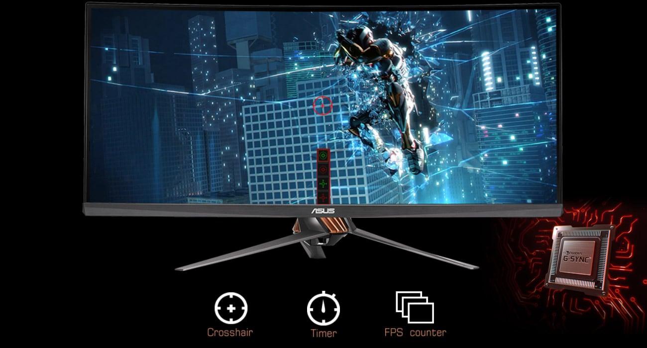 ASUS ROG PG348Q Curved Technologia GamePlus